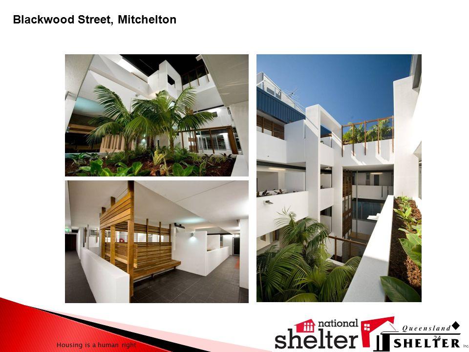 Housing is a human right 24 Blackwood Street, Mitchelton