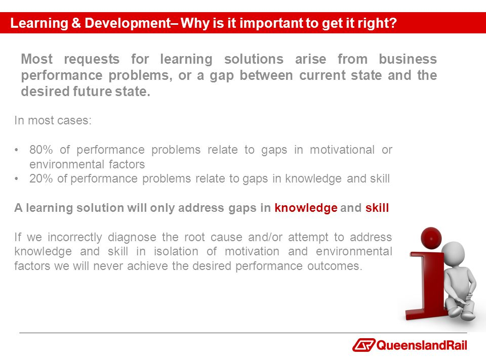 Learning & Development– Why is it important to get it right.