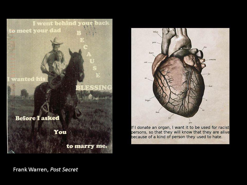 Frank Warren, Post Secret