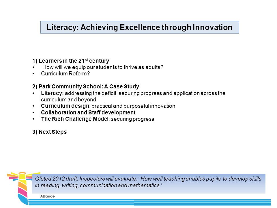 What do we believe about learning? What does a 21 st century learner look like?