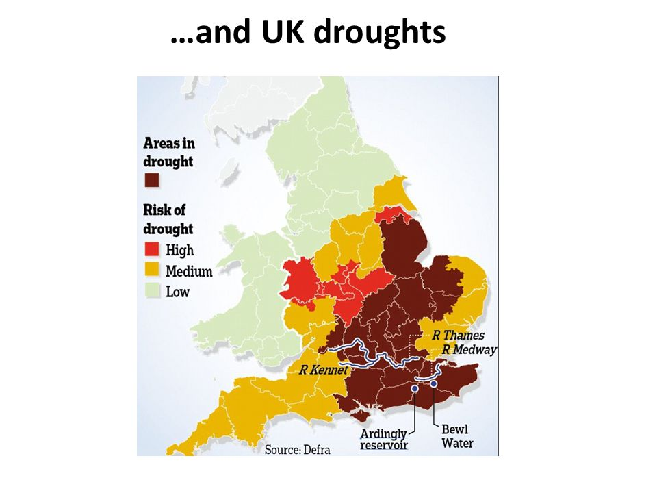 …and UK droughts