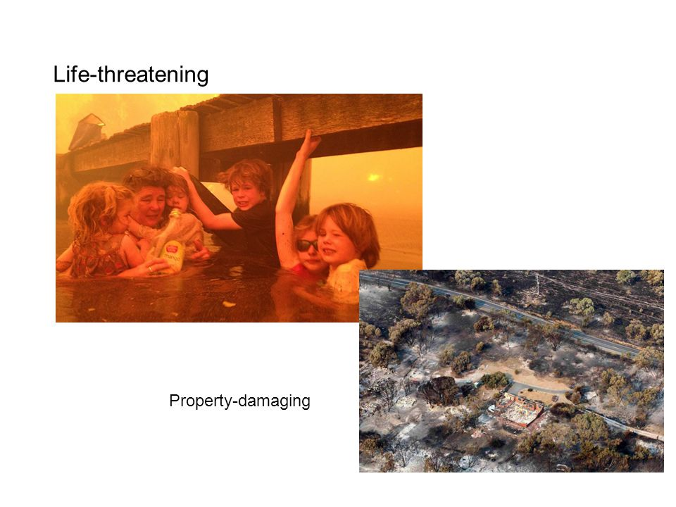 Life-threatening Property-damaging