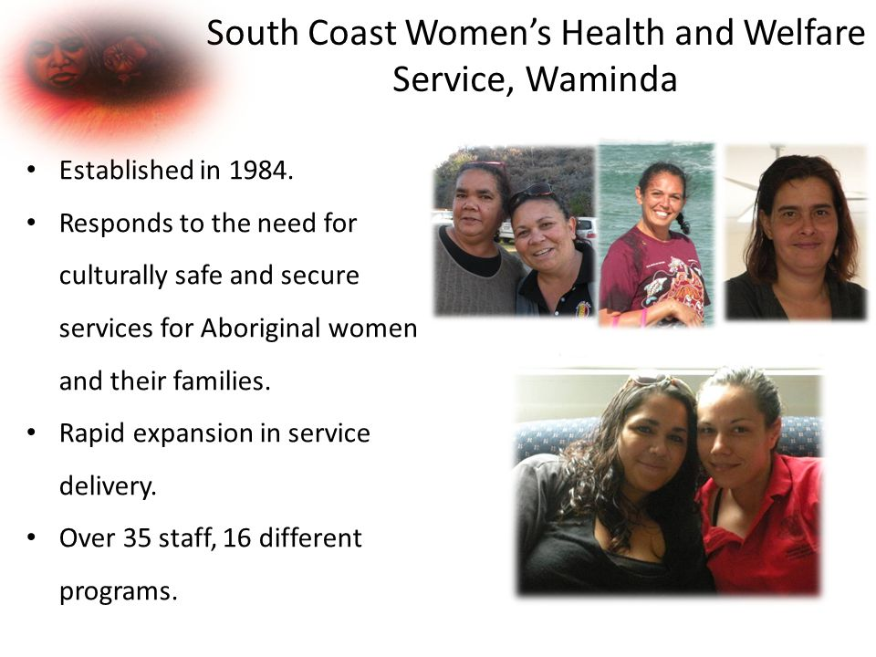 South Coast Women's Health and Welfare Service, Waminda Established in 1984.