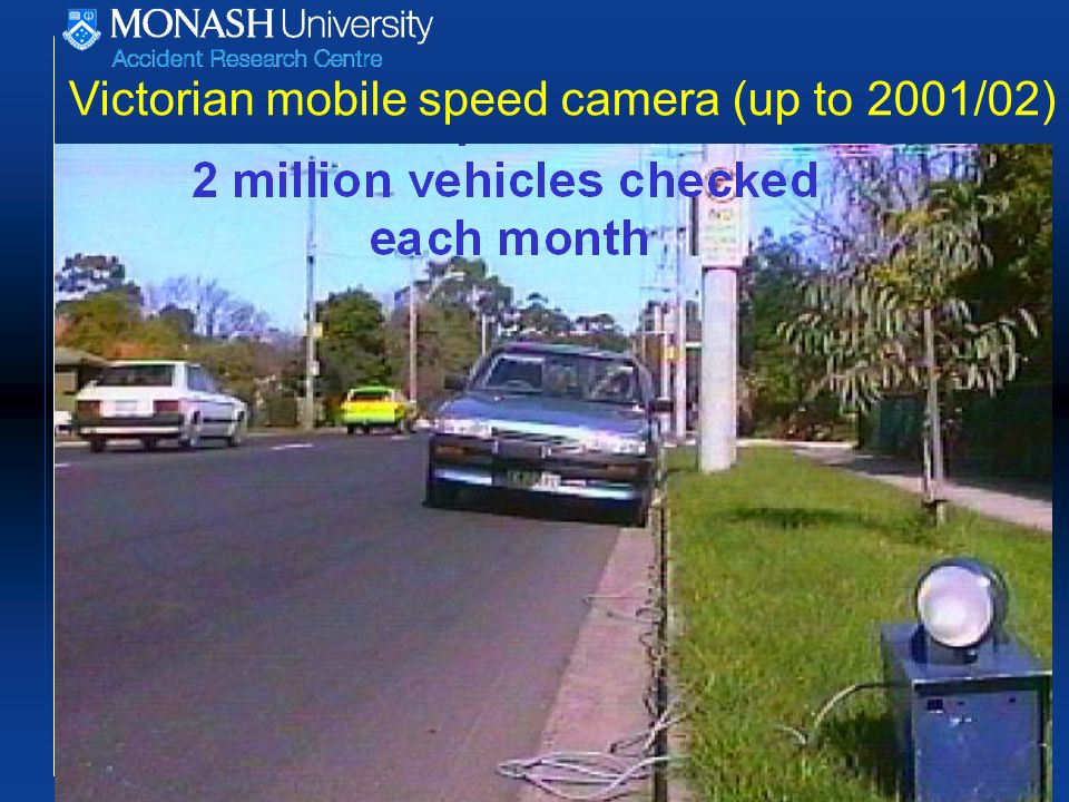 Victorian mobile speed camera (up to 2001/02)