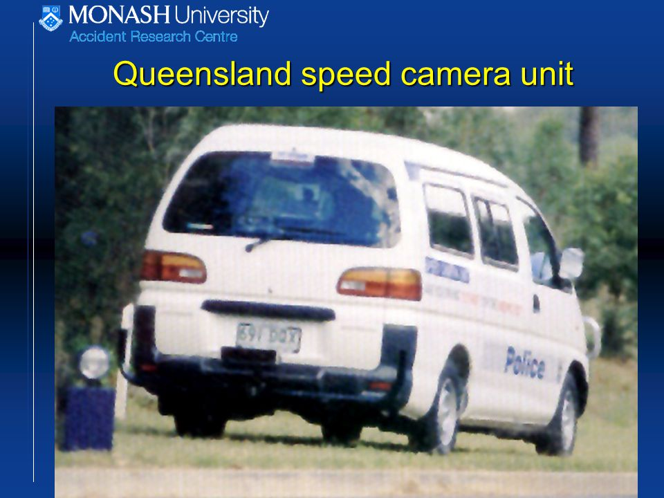 Queensland speed camera unit