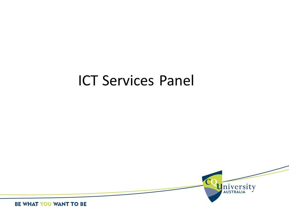 ICT Services Panel