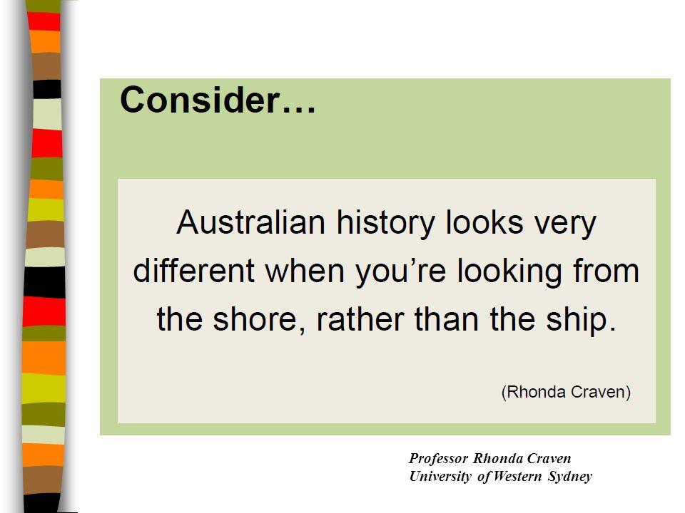 Professor Rhonda Craven University of Western Sydney