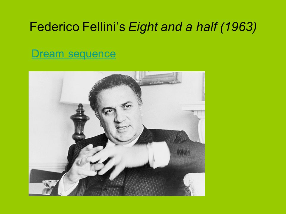 Federico Fellini's Eight and a half (1963) Dream sequence