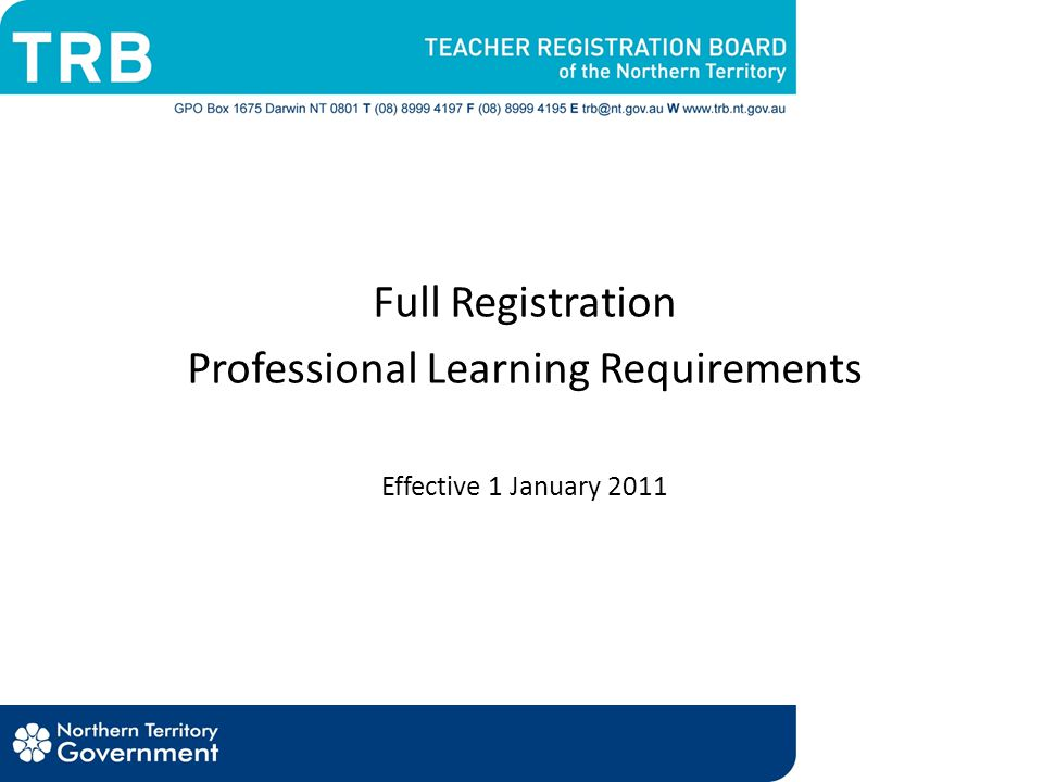 Verification of professional learning Notes related to readings, reflections, activities or presentations Attendance certificates* Teaching programs, plans or records Diaries or reflective journals Copies of articles or workshop/conference papers that a teacher has contributed to or presented Annotated student work samples Employer/sector professional learning activities attended; and Any other material that will show the nature and extent of participation in activities undertaken