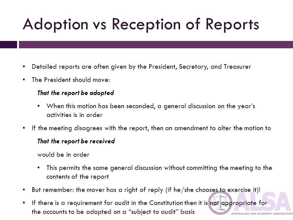 President President should normally chair all meetings Rotation of chairing undesirable as continuity is lost and the President's authority is diminished.