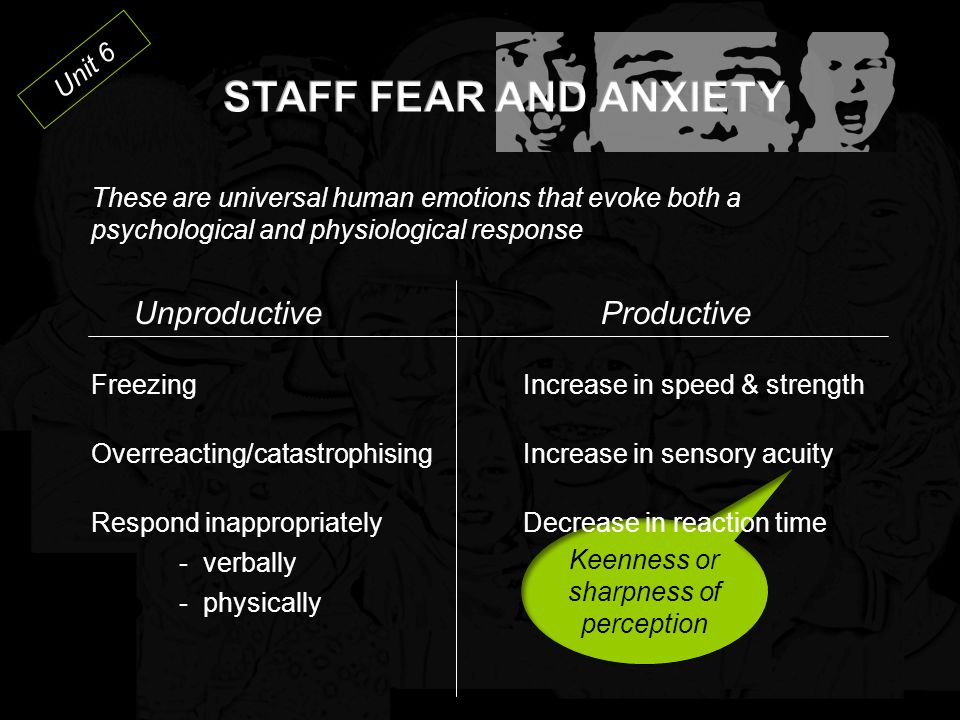 Unit 5 Integrated Experience The concept that behaviours and attitudes of staff impact behaviours and attitudes of individuals, and vice versa.