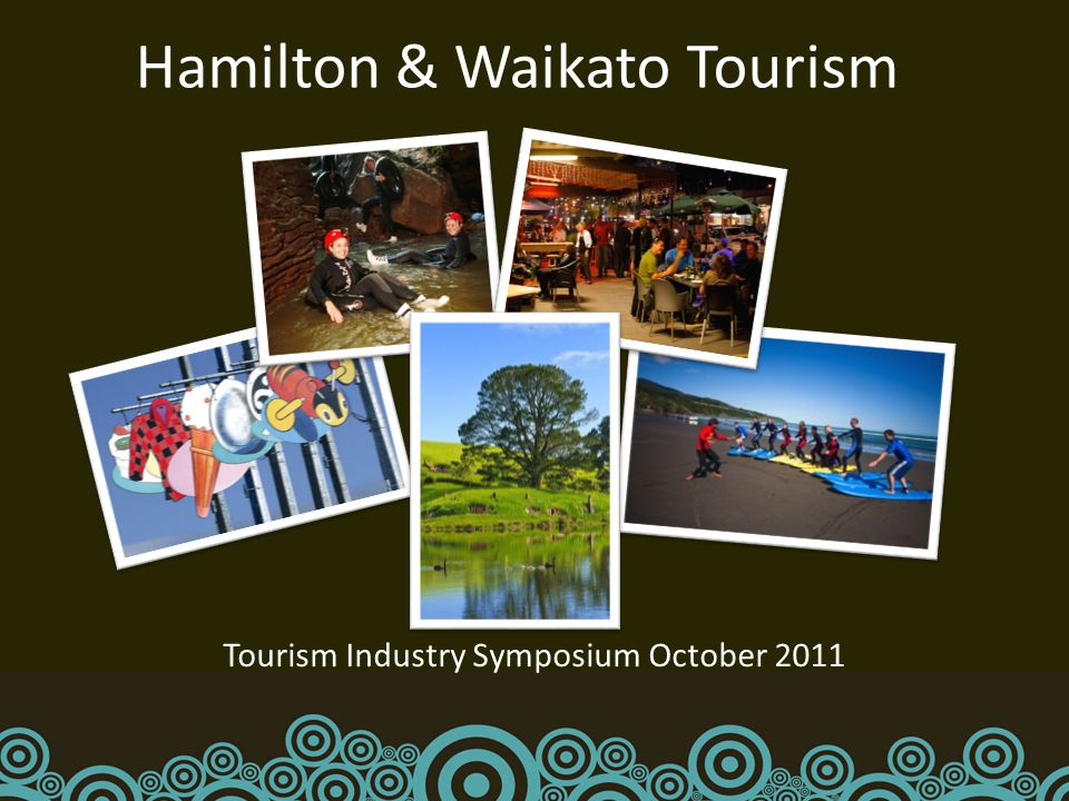 Hamilton & Waikato Tourism Tourism Industry Symposium October 2011
