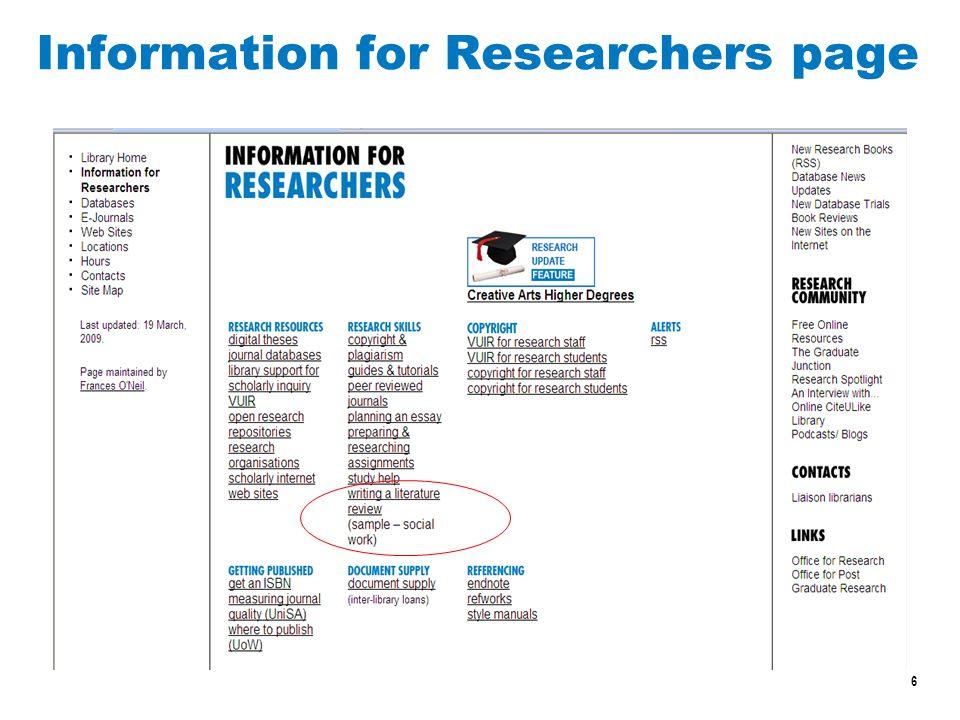 7 Databases - free access VU Vocational Education and Training (VET) Infolink http://w2.vu.edu.au/library/infolink/education/vet1.htm ERIC (education literature, international) http://www.eric.ed.gov/ VOCED (VET research, Australian & international) http://www.voced.edu.au/ Edna (Australia s free online network for educators) http://www.edna.edu.au/edna/go/vet http://www.edna.edu.au/edna/go/vet