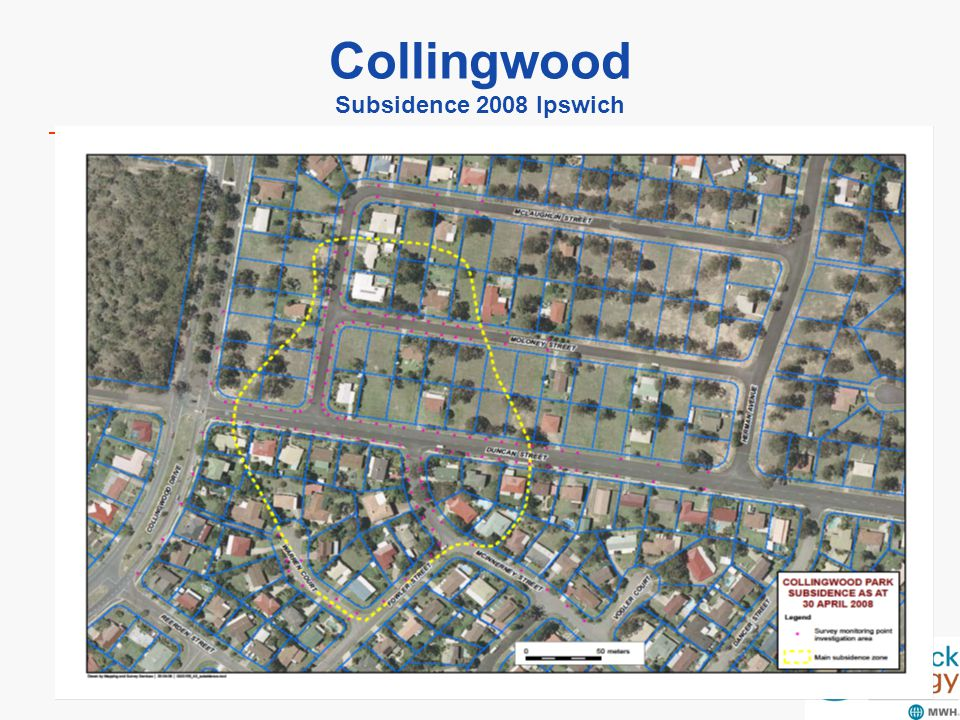 Collingwood Subsidence 2008 Ipswich