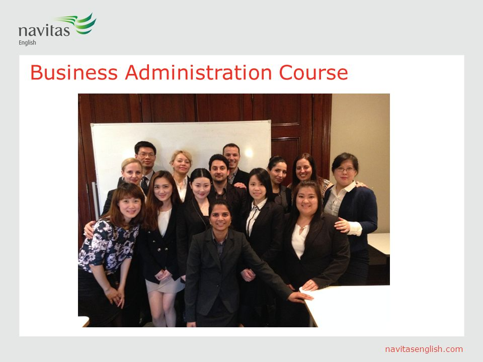 navitasenglish.com Business Administration Course