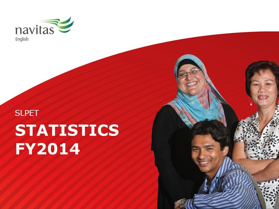 STATISTICS FY2014 SLPET
