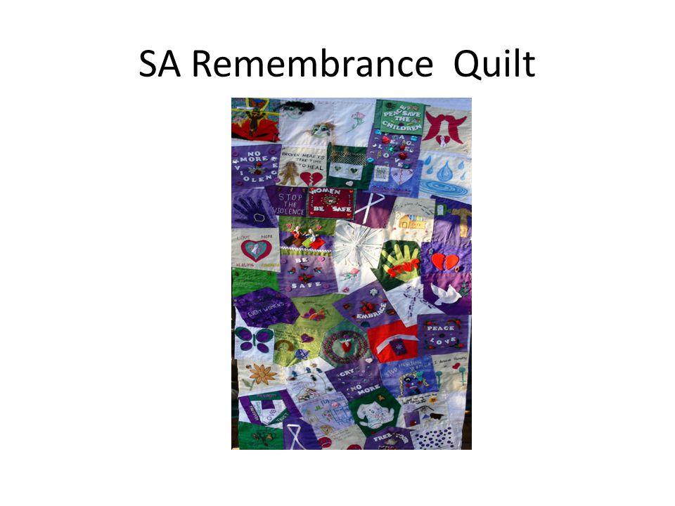 SA Remembrance Quilt