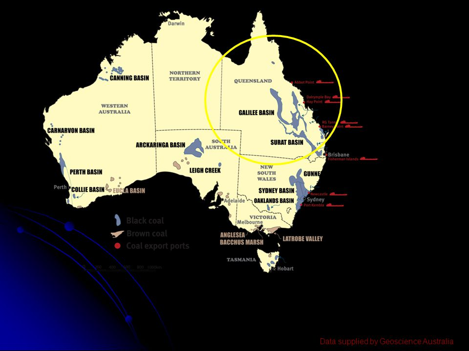 Data supplied by Geoscience Australia