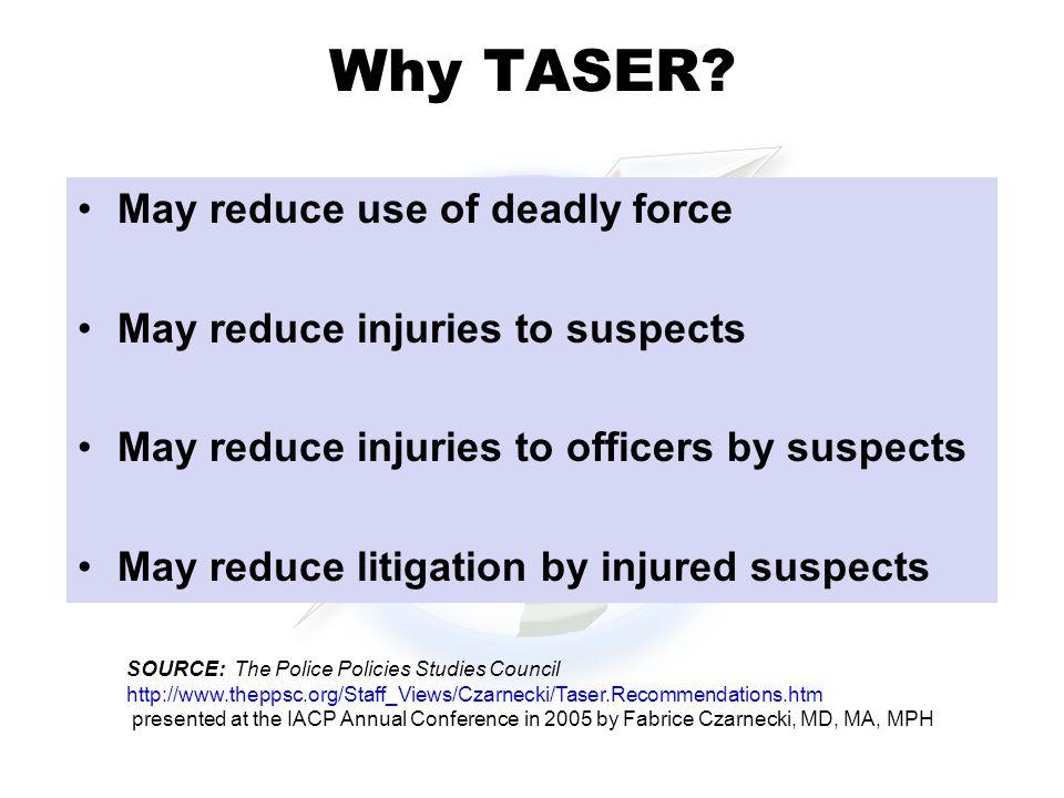 Why TASER.