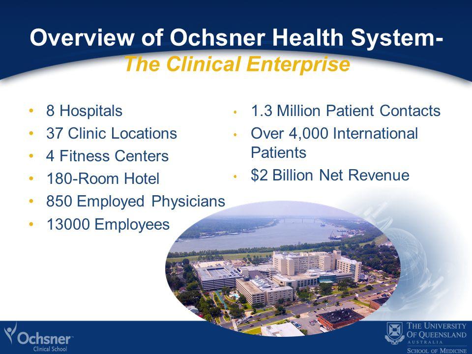 Ochsner Health System Footprint