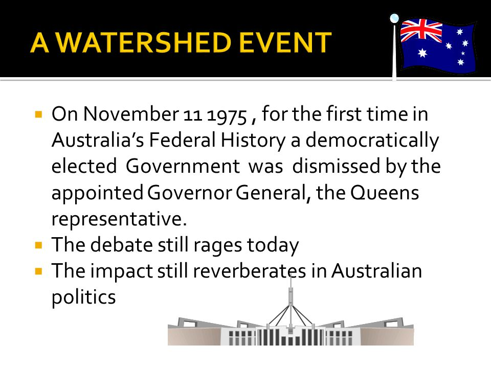  What have been some important political developments in post-war Australian history.