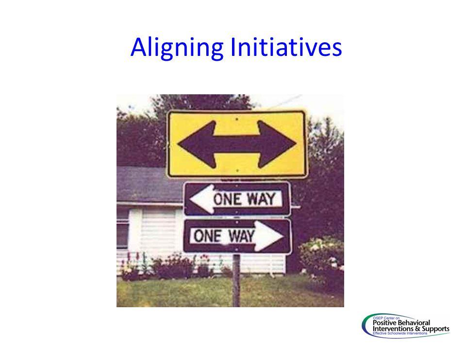 Aligning Initiatives