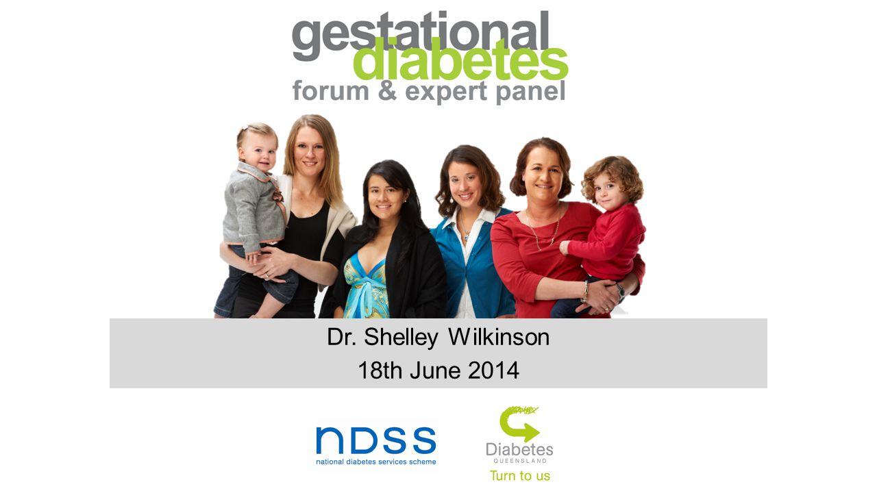 Dr. Shelley Wilkinson 18th June 2014