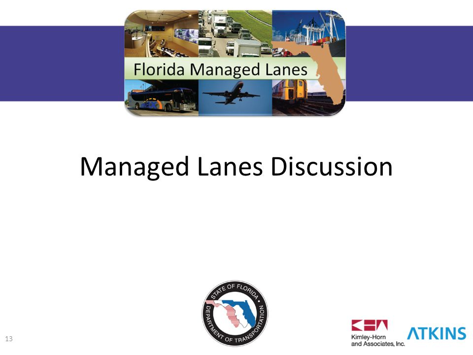 Managed Lanes Discussion 13