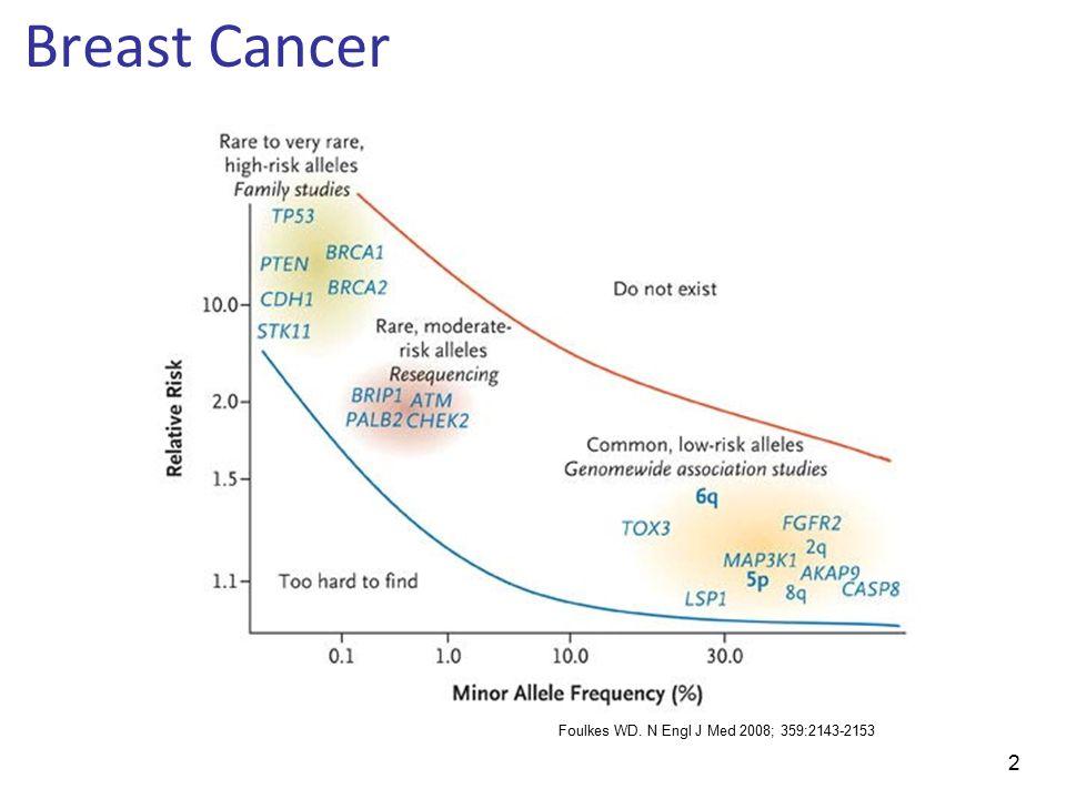 2 Breast Cancer Foulkes WD. N Engl J Med 2008; 359:2143-2153
