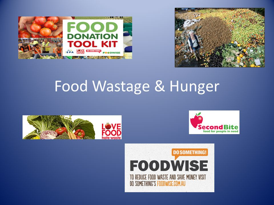Food Wastage & Hunger