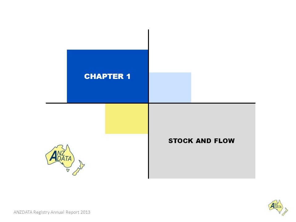 ANZDATA Registry Annual Report 2013 STOCK AND FLOW CHAPTER 1