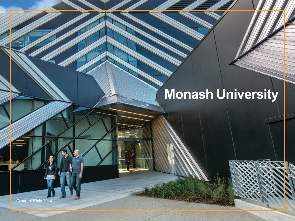 Monash University Group of Eight 2014