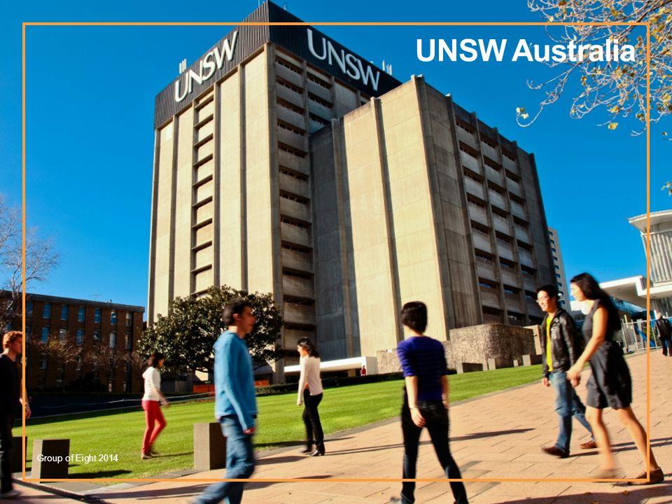 UNSW Australia Group of Eight 2014