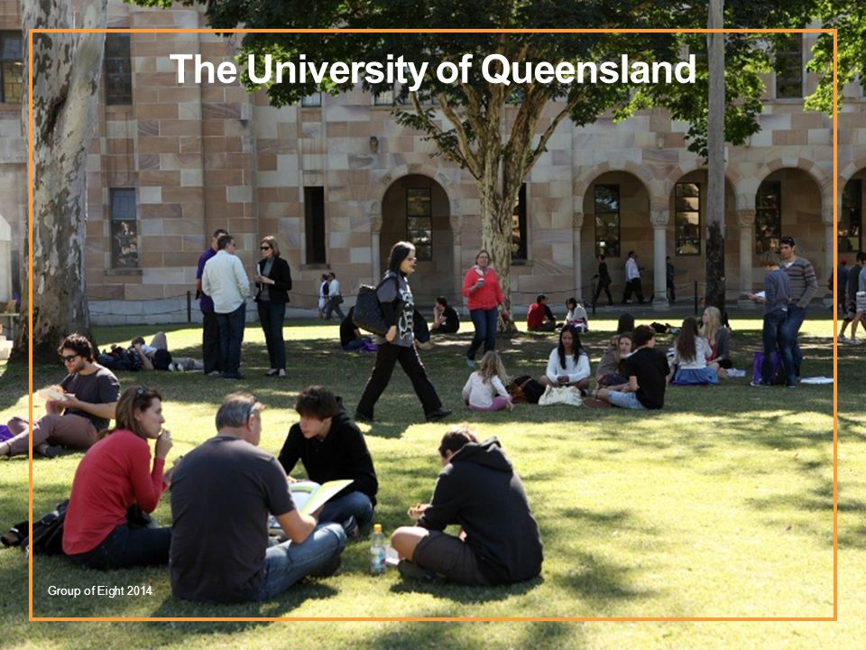The University of Queensland Group of Eight 2014