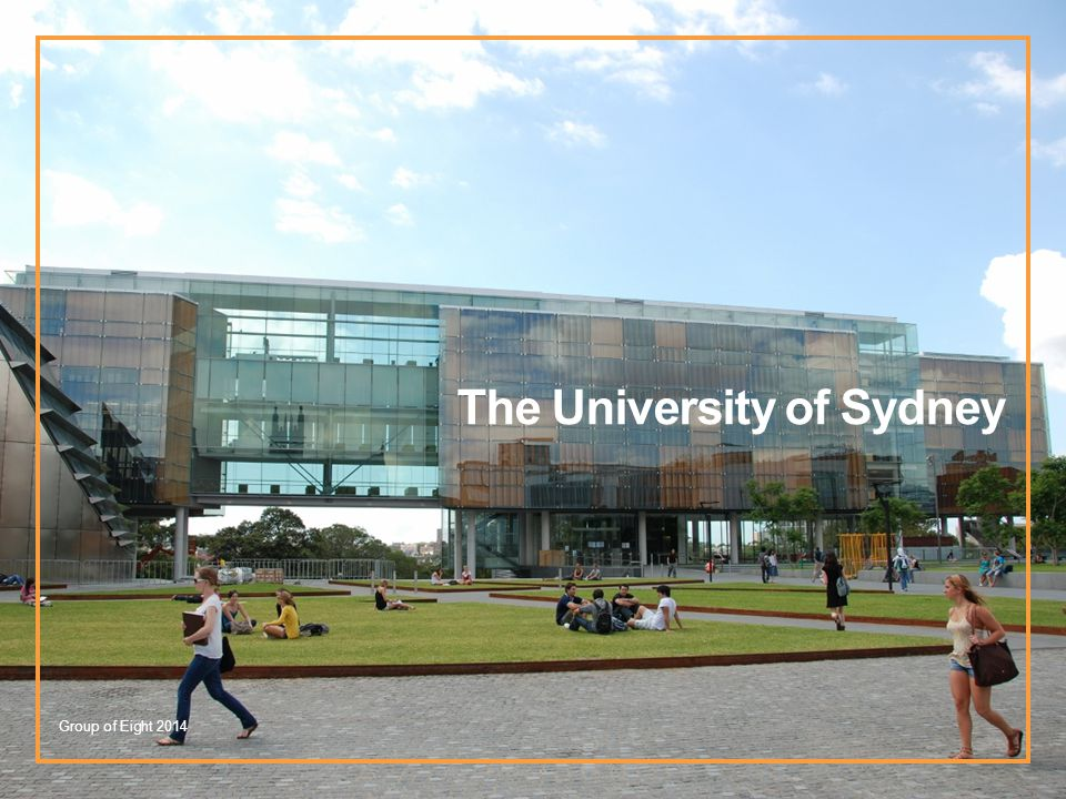The University of Sydney Group of Eight 2014
