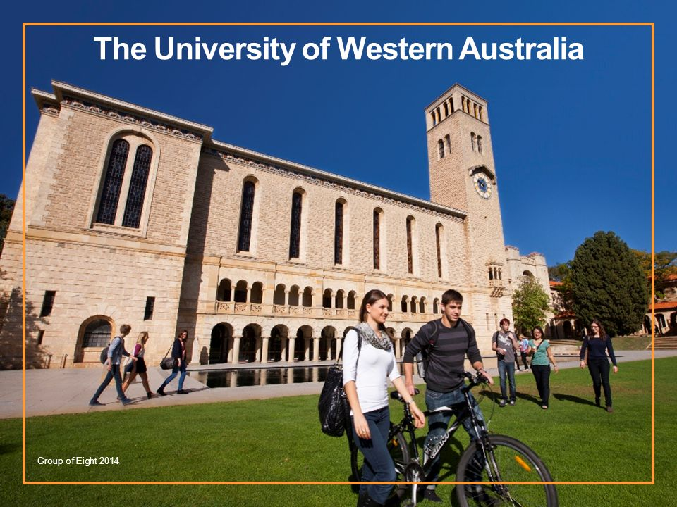 The University of Western Australia Group of Eight 2014