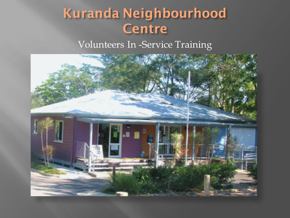 Kuranda Neighbourhood Centre (KNC) wishes to acknowledge this lands traditional owners and custodians.
