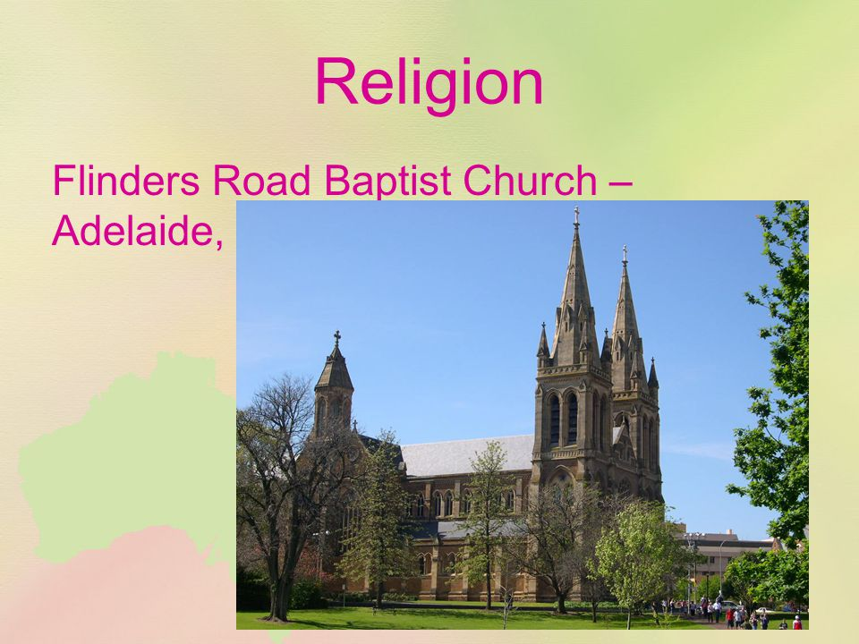 Religion Flinders Road Baptist Church – Adelaide, South Australia