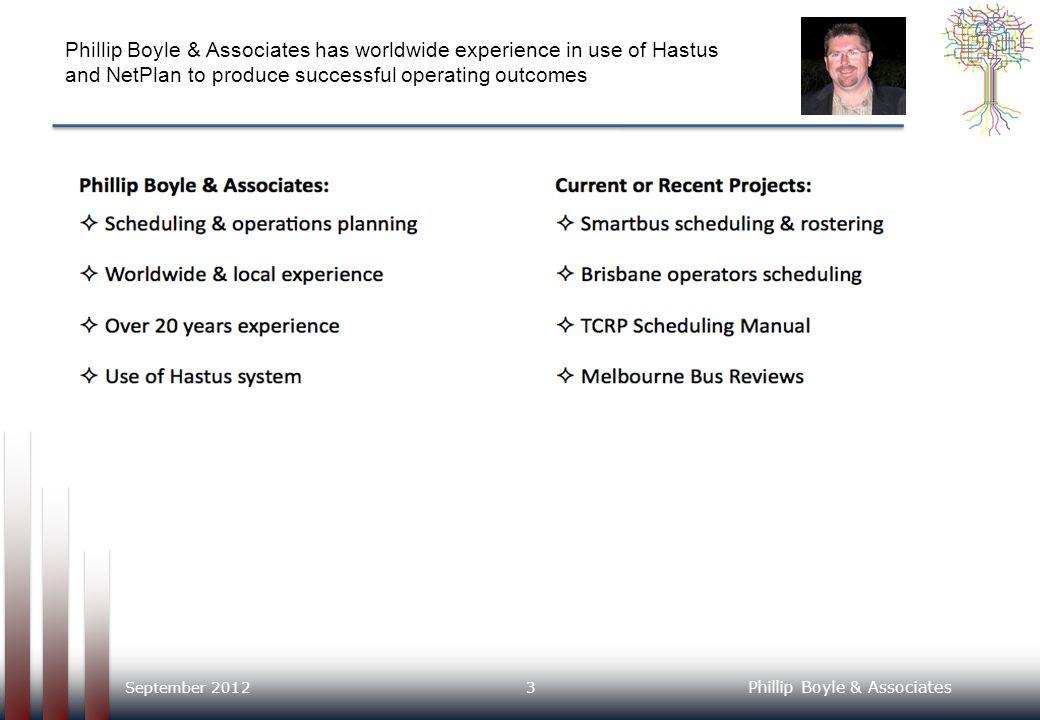 Phillip Boyle & Associates 1.Introduction 2. Our NetPlan Experience 3.
