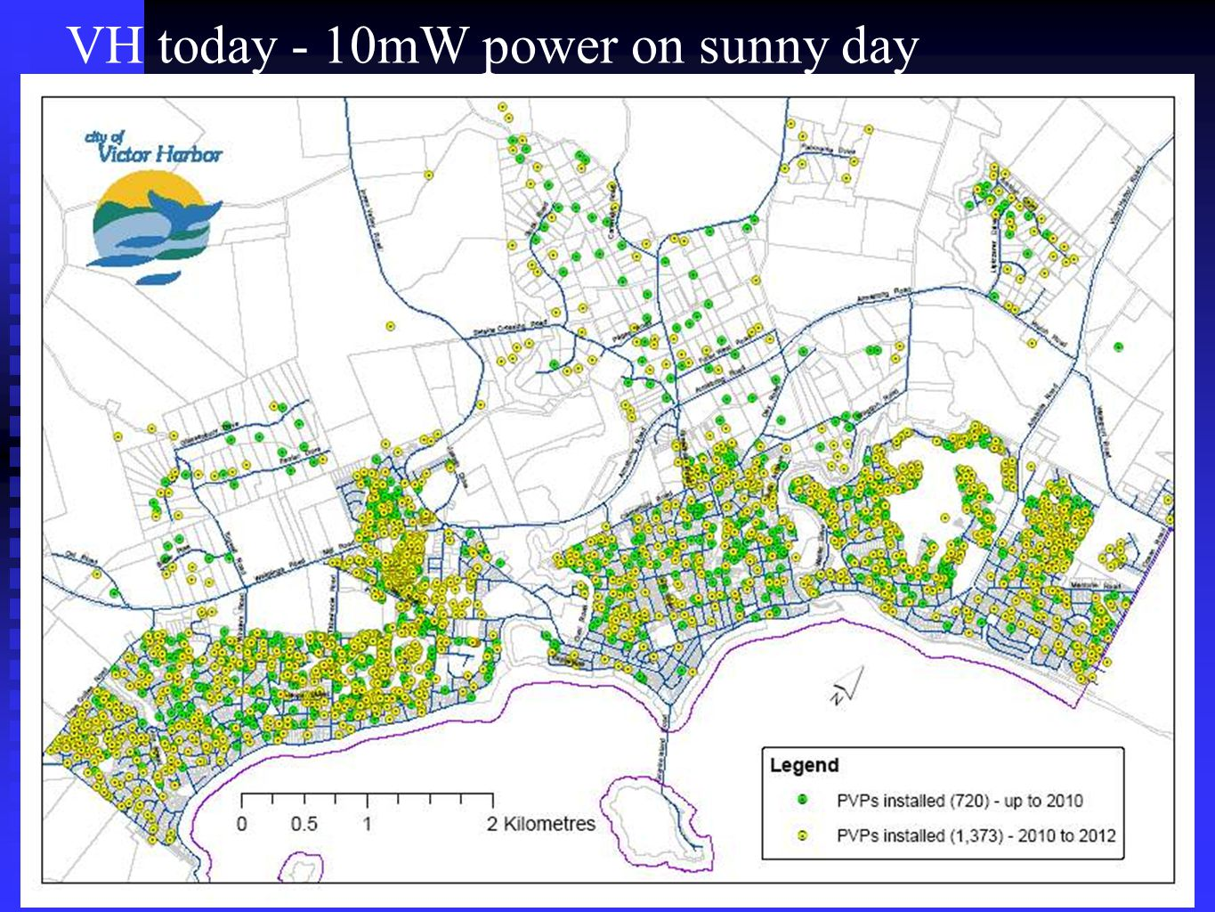 VH today - 10mW power on sunny day