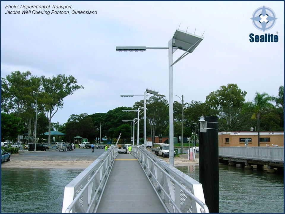 Photo: Department of Transport, Jacobs Well Queuing Pontoon, Queensland