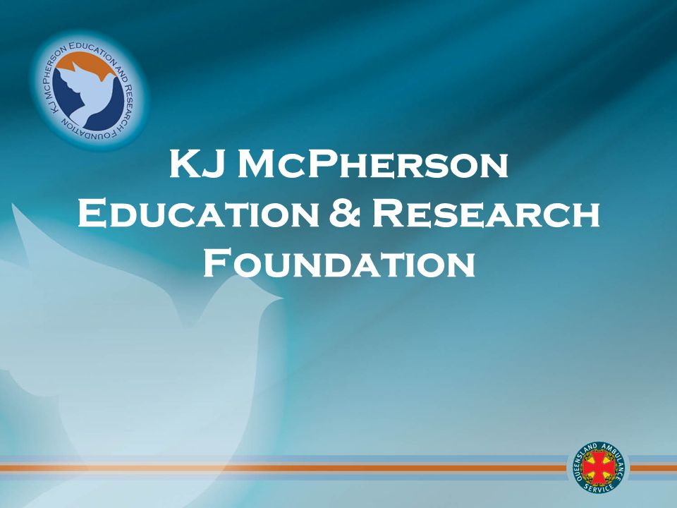 For further information on the KJM Foundation and how to donate call (07) 3635 3368 Or KJMFoundation@ambulance.qld.gov.au or search KJM Foundation QAS or http://www.ambulance.qld.gov.au/about/kjmf/default.asp