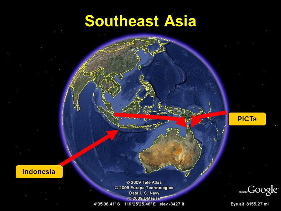 Southeast Asia Indonesia PICTs