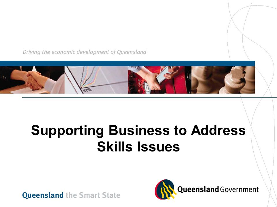 Supporting Business to Address Skills Issues