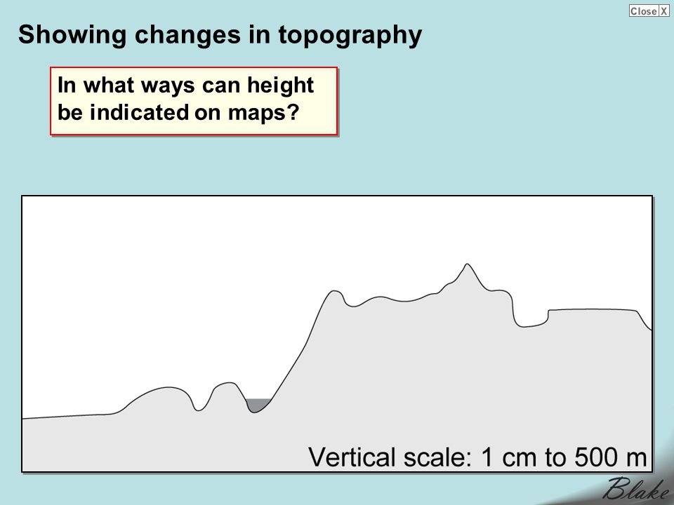 Showing changes in topography In what ways can height be indicated on maps?