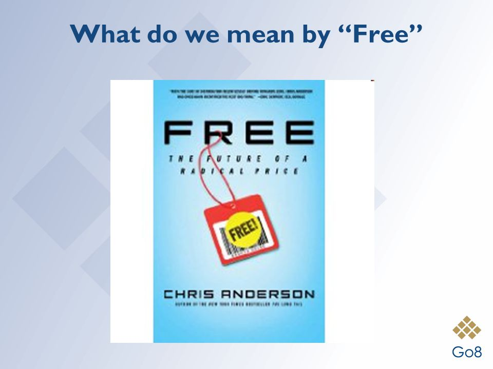 """What do we mean by """"Free"""""""