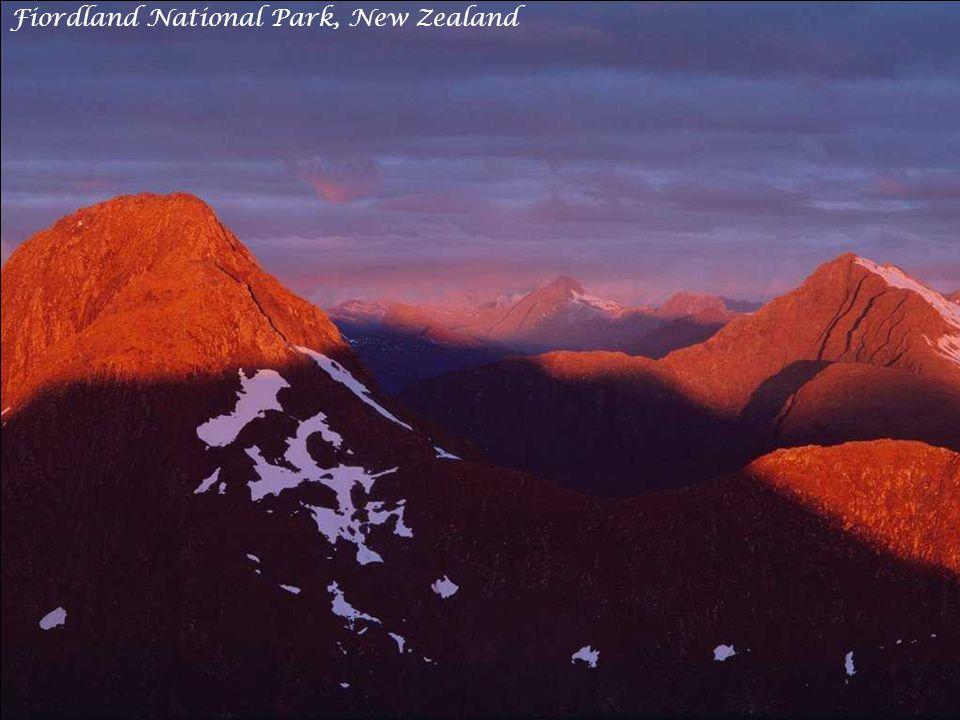 Diamond Lake, Paradise, New Zealand