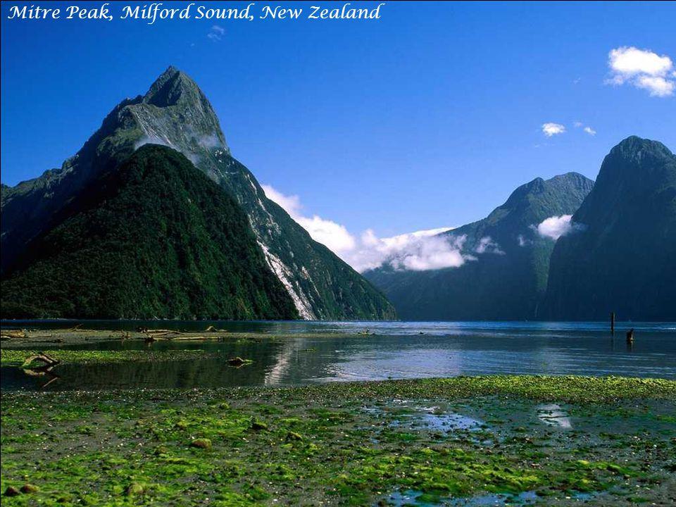 Dusky Sound, Fiordland National Park, New Zealand