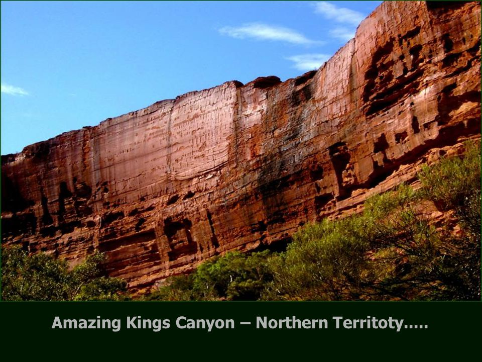 Outback – Soon seeing Kings Canyon.....