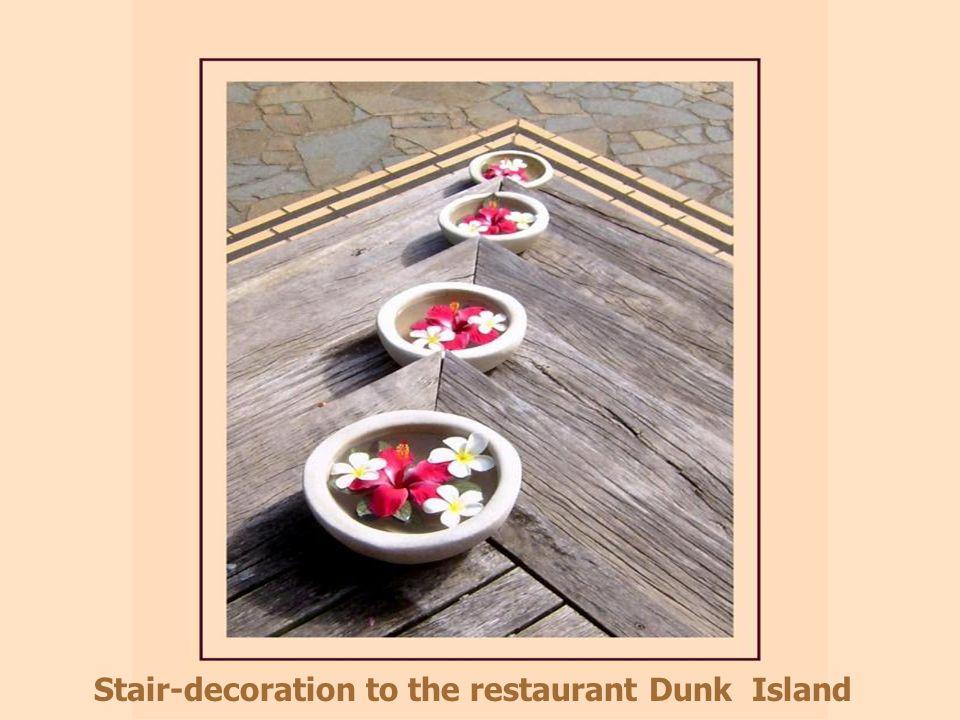 Breakfast room Dunk Island, Great Barrier Reef, QL